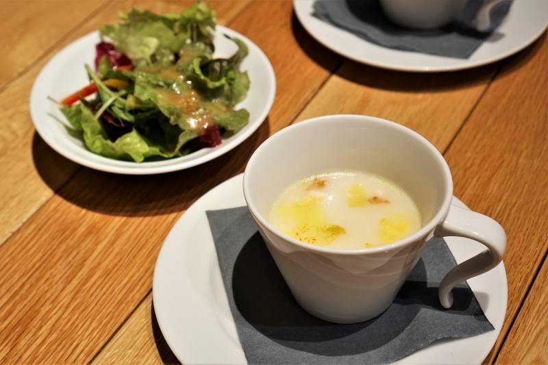 リストランテメロ サラダ・スープ