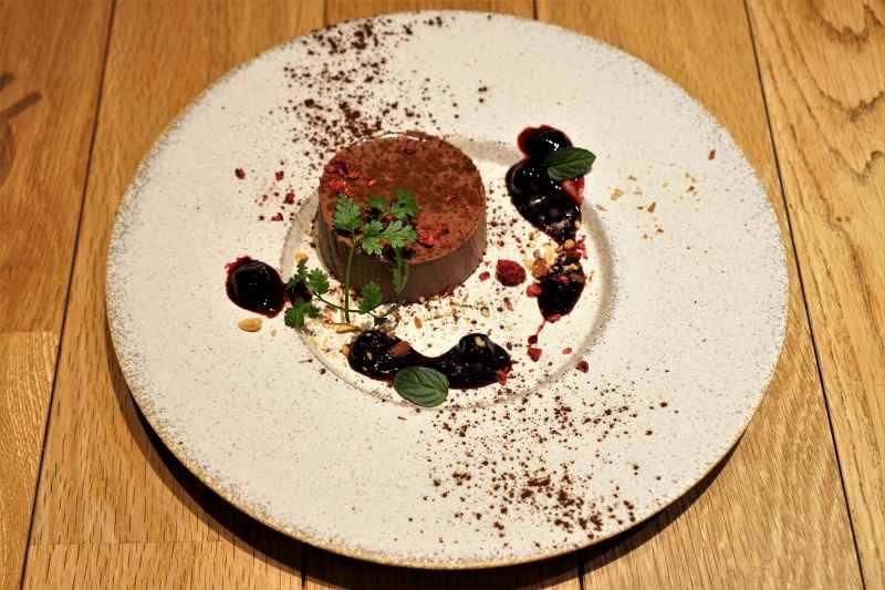 リストランテメロ チョコレートムース