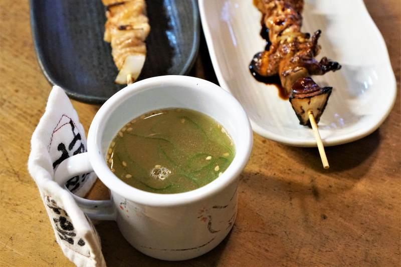 ぎんねこ 特製鶏スープ