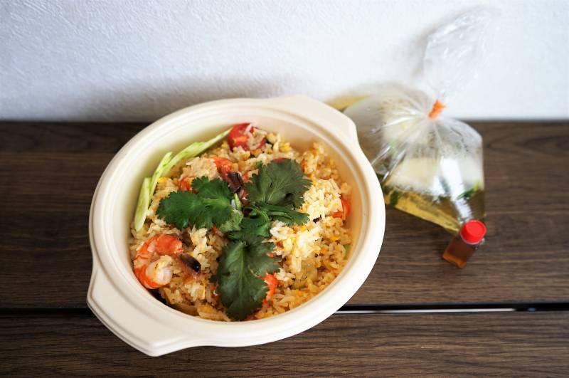 タイ料理パタヤの海老チャーハン(デリバリー)