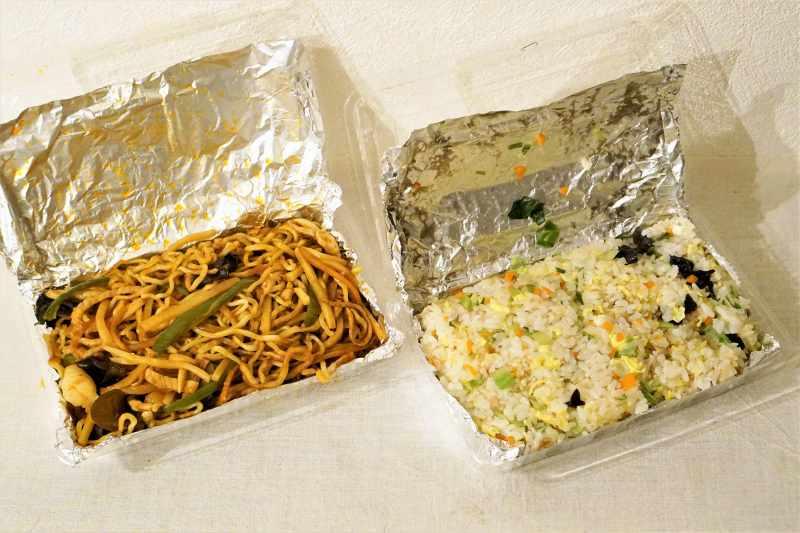 中国料理季香園 季香園風焼きそば&五目チャーハン
