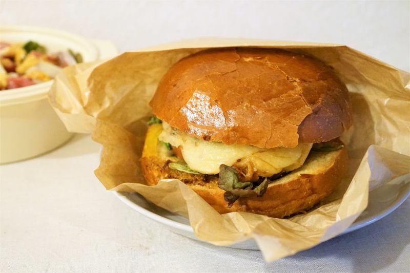 menu リストランテメロ ハンバーガー