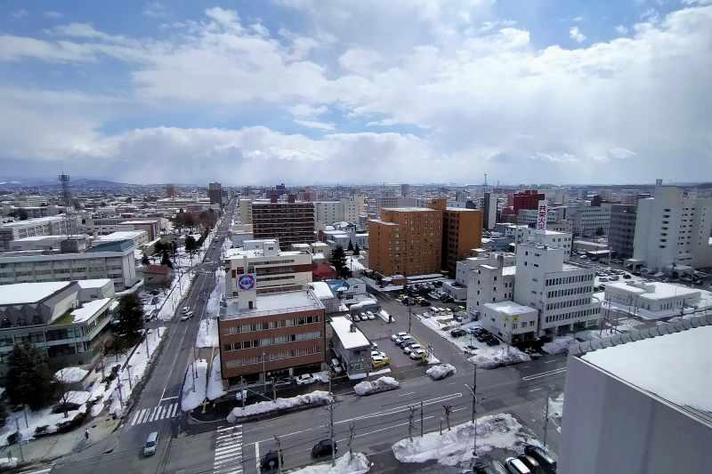 OMO7旭川 11階からの景観