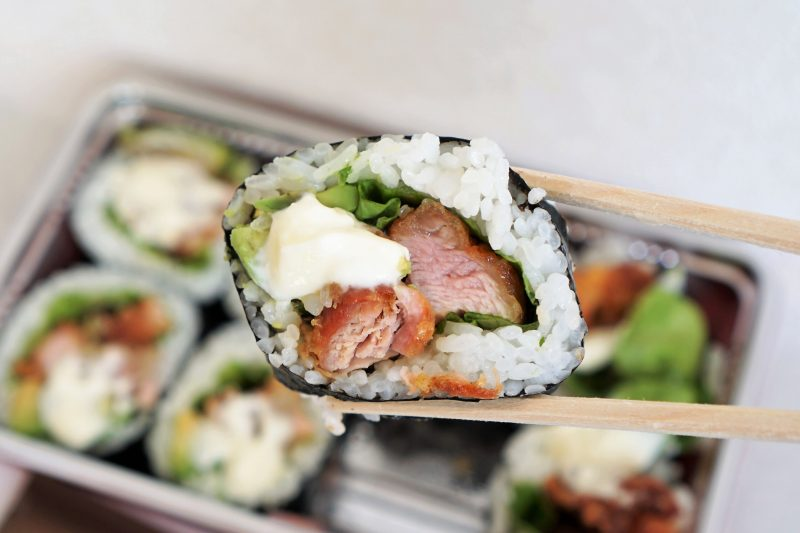 Wolt ザンギロール寿司