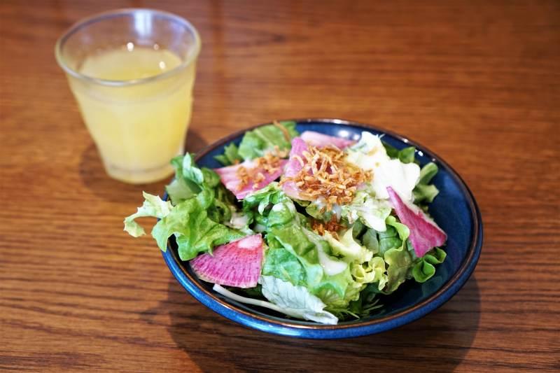山本のハンバーグ ミニサラダ