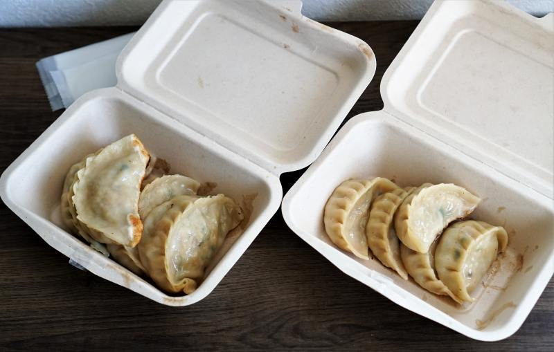SAPPORO餃子製造所 餃子と大粒餃子