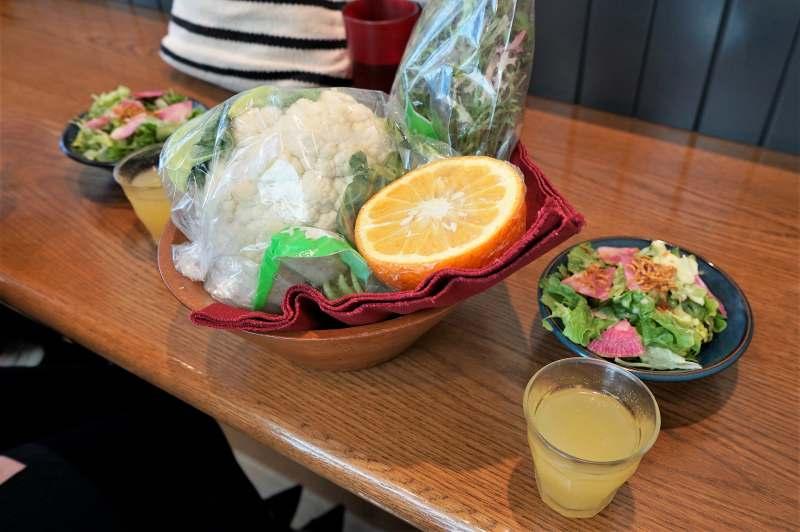 山本のハンバーグ 野菜ジュース
