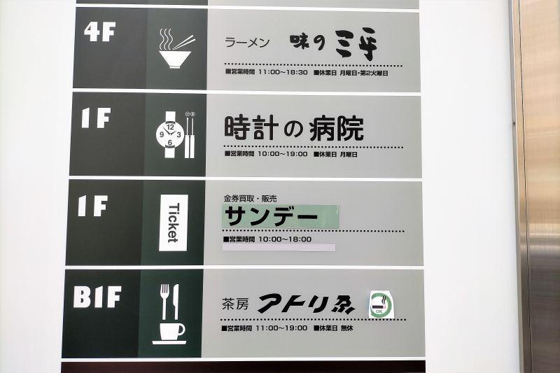 大丸藤井セントラル フロアマップ