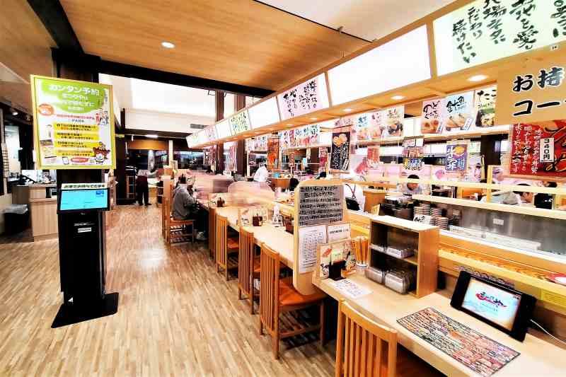 回転寿司まつりや 店内の様子