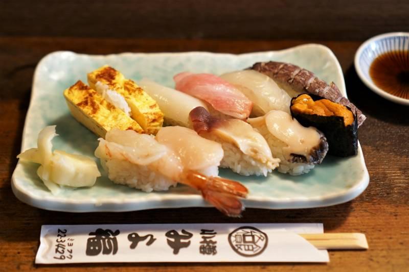 みよ福の特上寿司
