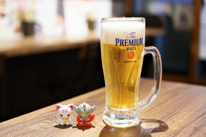 蛸屋本店 ビール