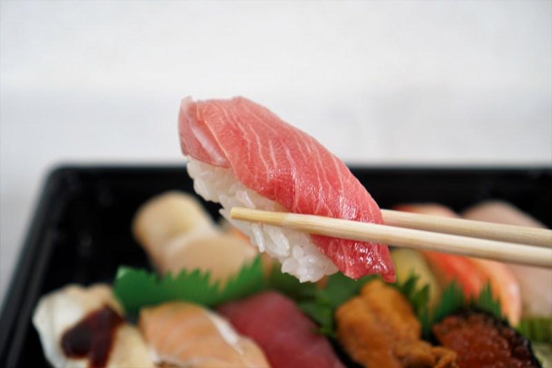札幌海鮮丸の中トロ