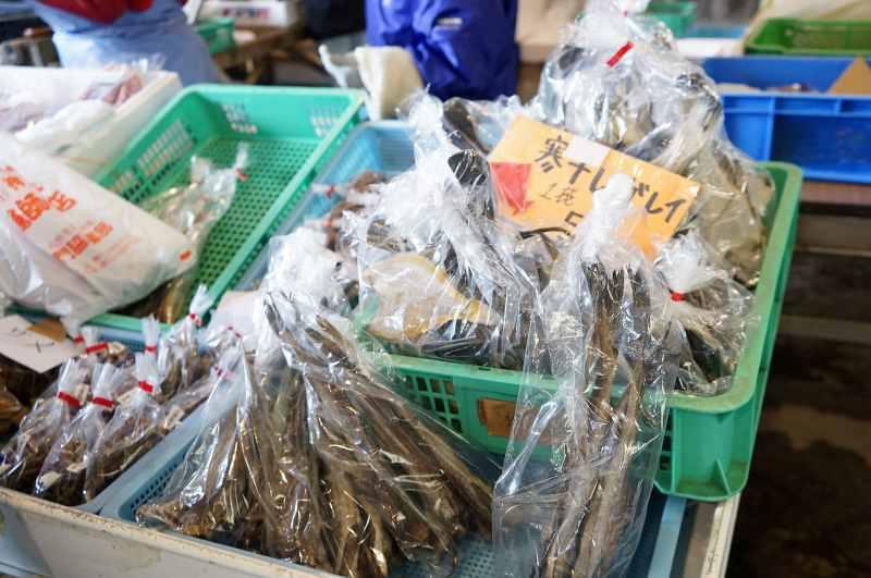 浜益ふるさと市場 干物