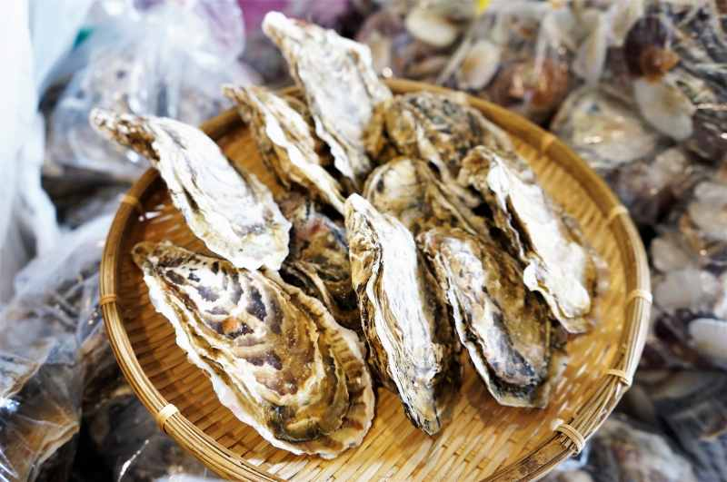 浜益ふるさと市場 牡蠣