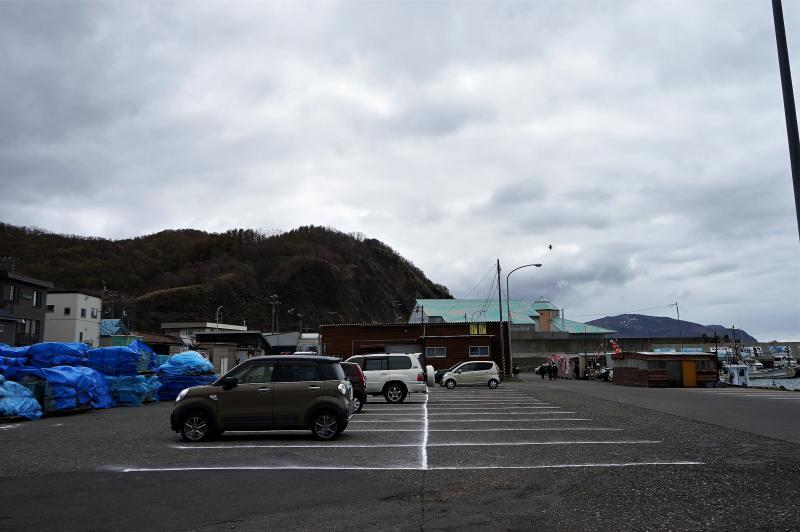浜益ふるさと市場 駐車場