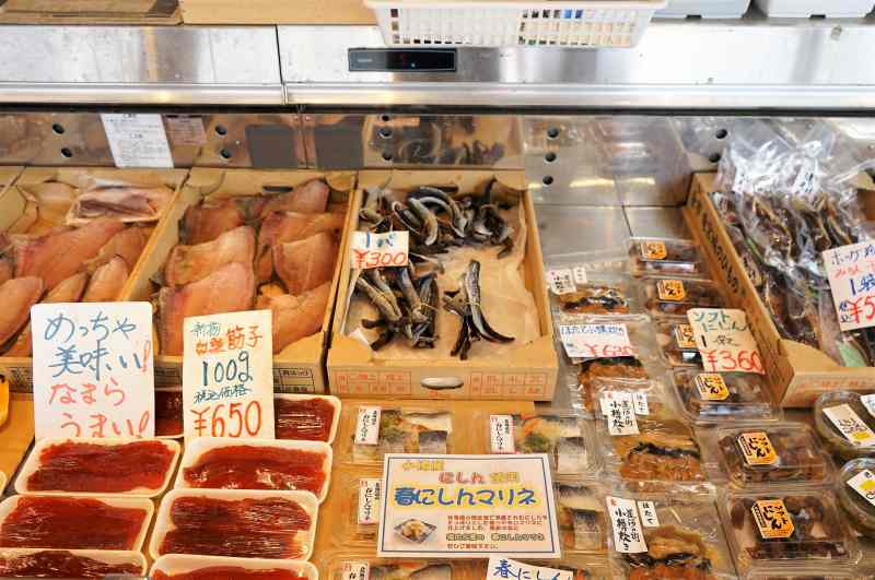 新岡商店で販売されている加工品