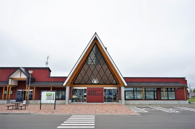 道の駅とうべつの外観