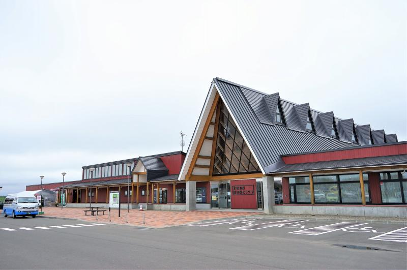 「北欧の風 道の駅とうべつ」の外観