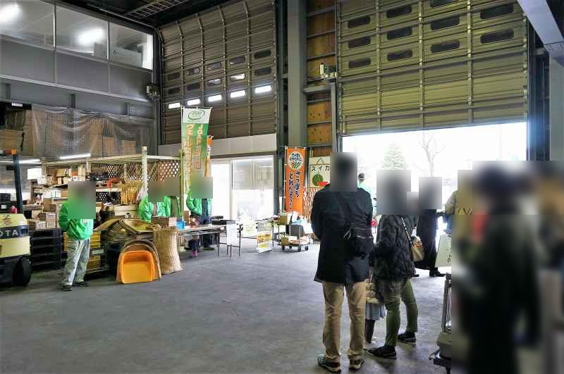 札幌黄オーナー制度体験会の様子