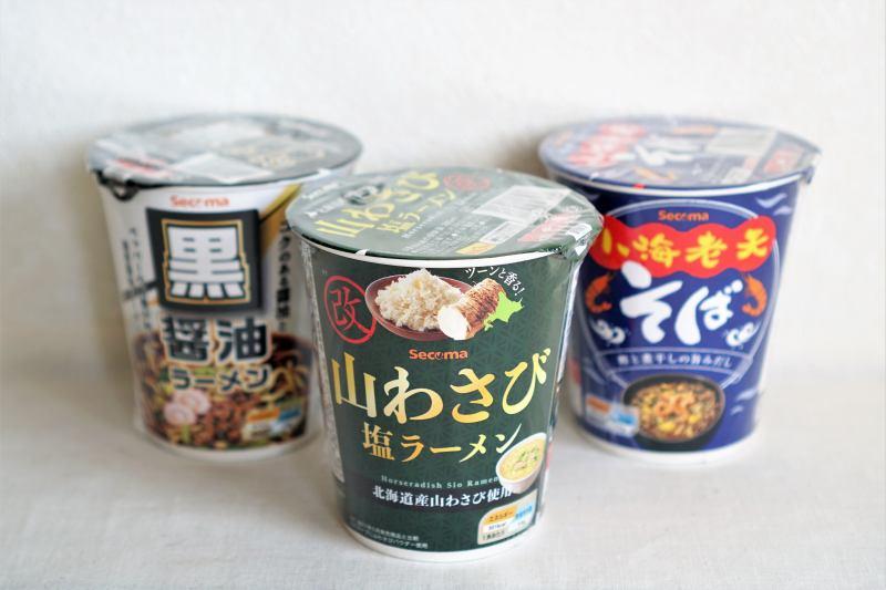 セイコーマートのオリジナルカップ麺