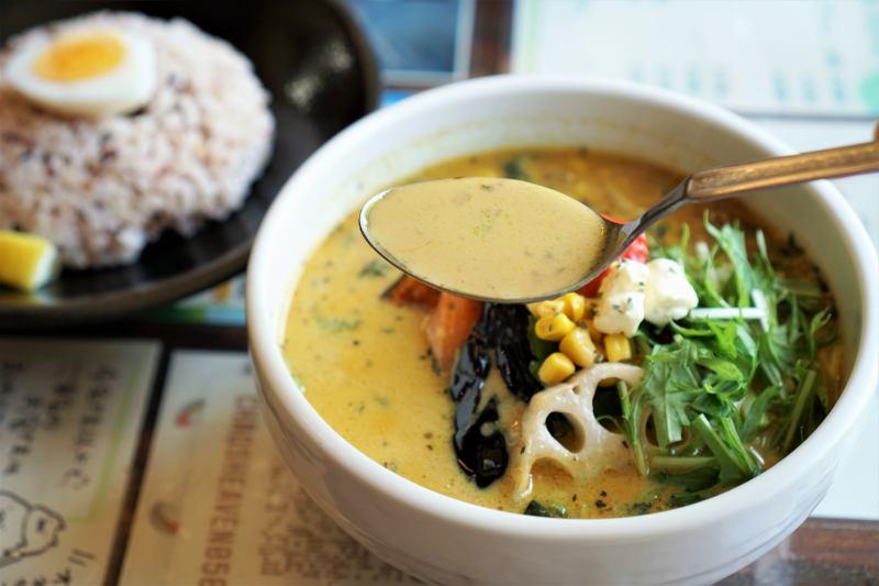 カオスヘブンのミルクスタイルのスープカレー