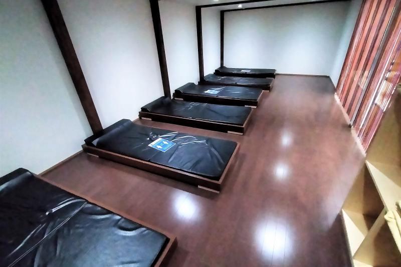 くりやま温泉の仮眠室