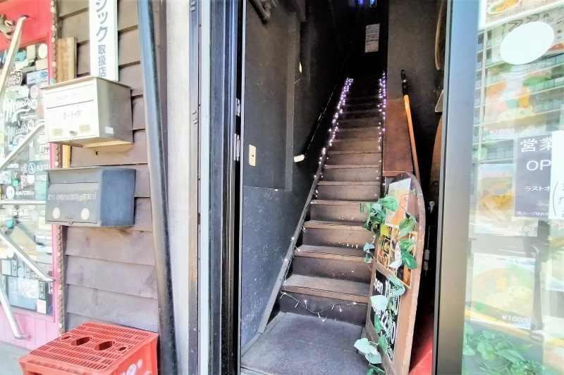 カオスヘブンの階段
