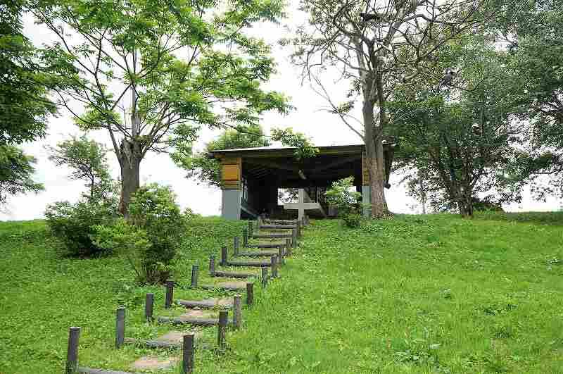 偕楽公園キャンプ場の炊事場