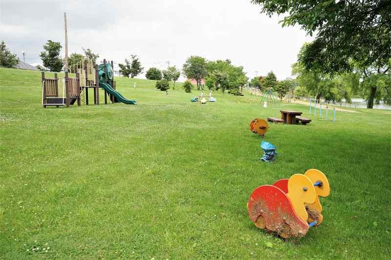 皆楽公園キャンプ場の遊具