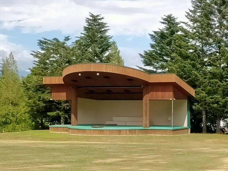 山部自然公園太陽の里の音楽堂