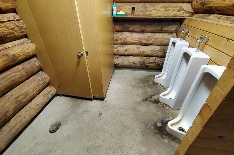 山部自然公園太陽の里のトイレ