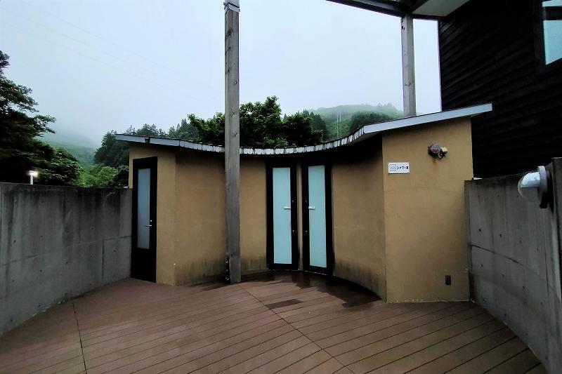 戸井ウォーターパークキャンプ場のコテージ