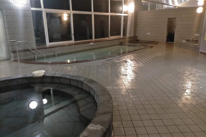 ふれあい湯遊館の大浴場