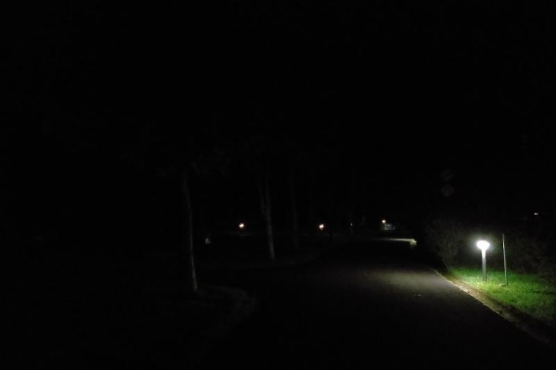 戸井ウォーターパークの夜