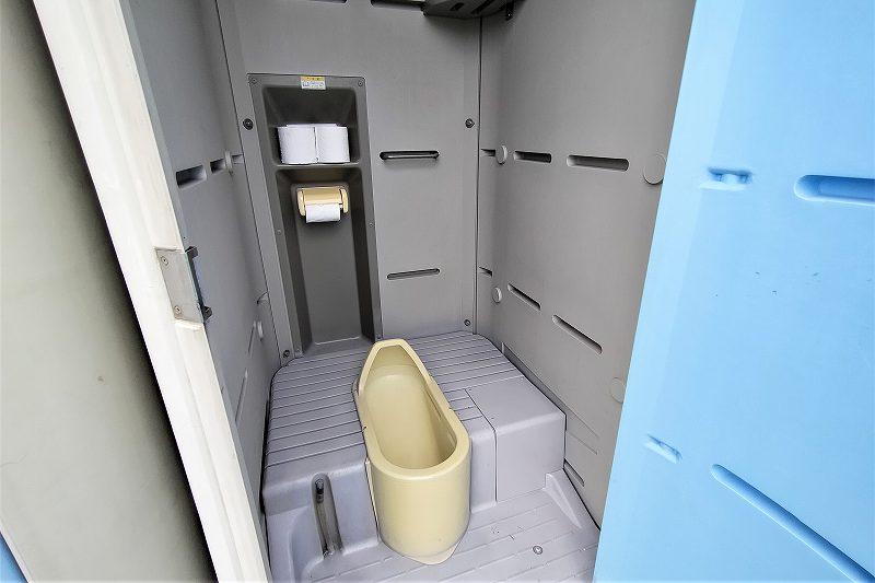 きじひき高原キャンプ場の簡易トイレ
