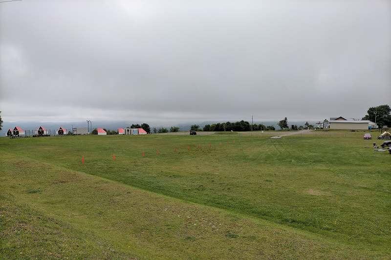 きじひき高原キャンプ場のテントサイト