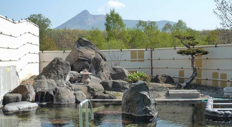 ちゃっぷ林館の露天風呂