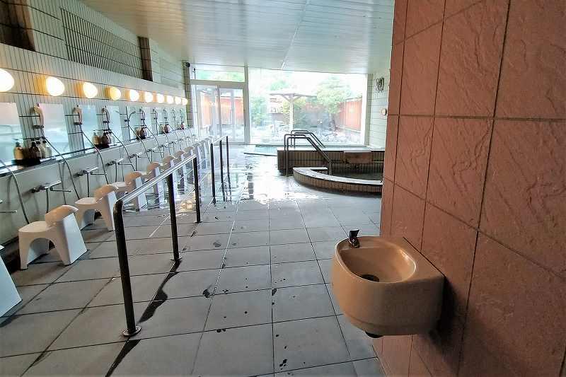 旅籠屋定山渓商店の大浴場
