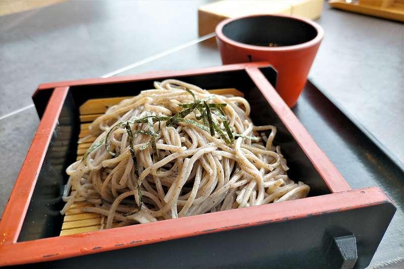 仙堂庵のお蕎麦