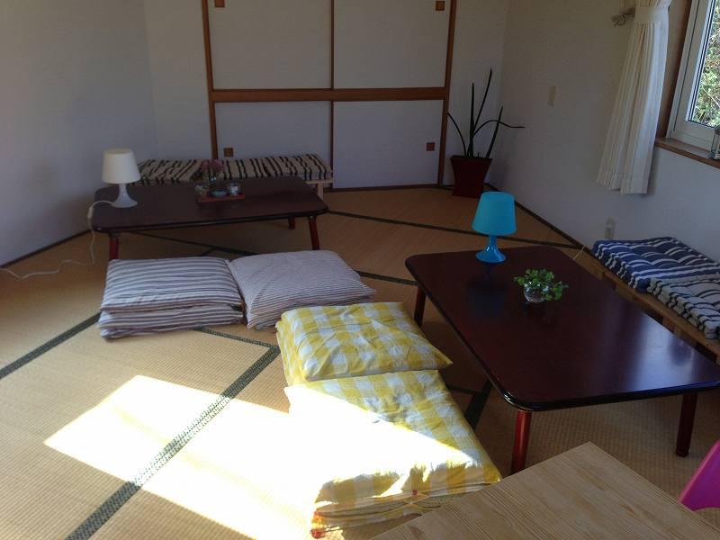 サニーサイドアップカフェの2階にある畳の部屋