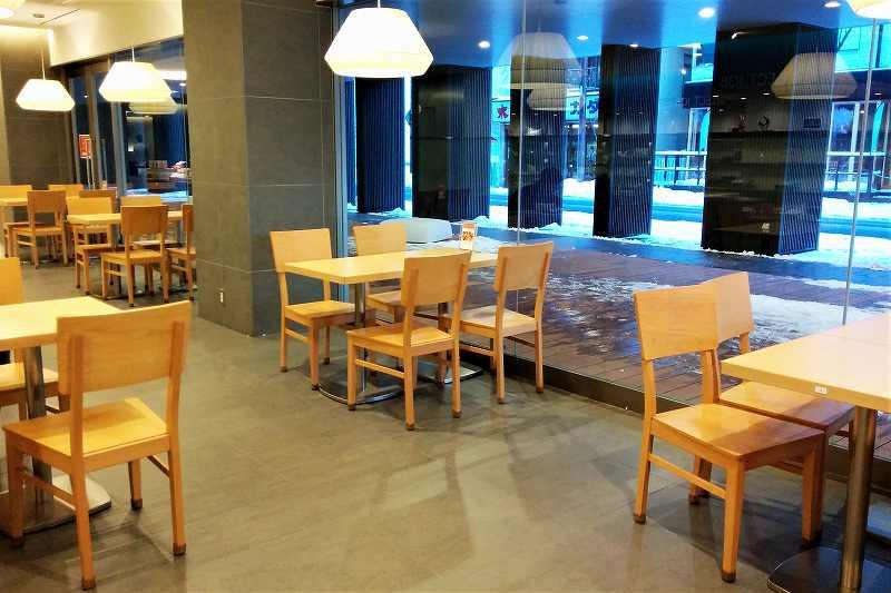 カフェ カトー・ド・ボヌールの店内