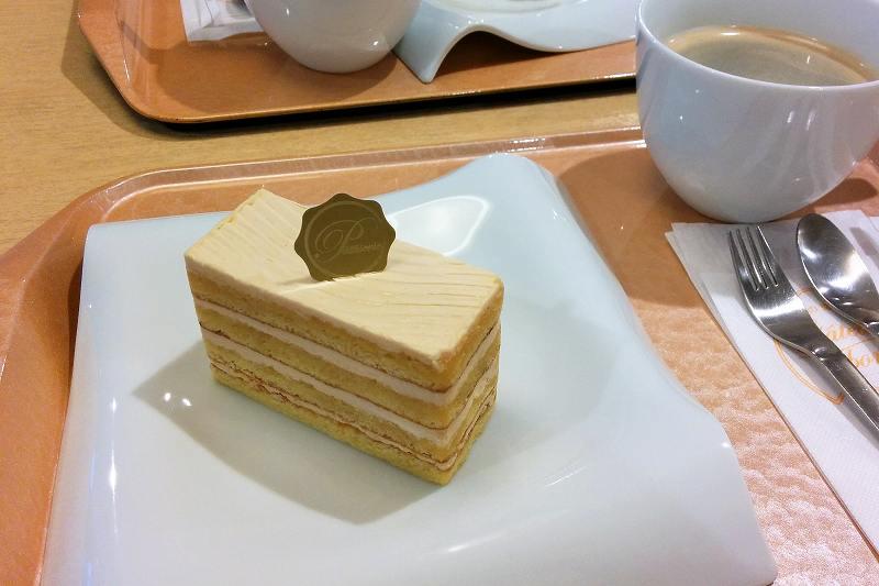 カフェ ガトー・ド・ボヌール のケーキ