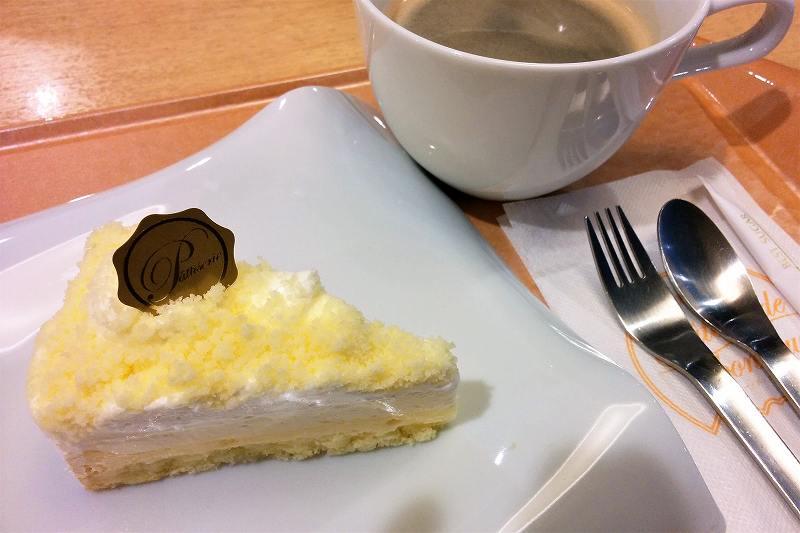 カフェ ガトー・ド・ボヌールのチーズケーキ