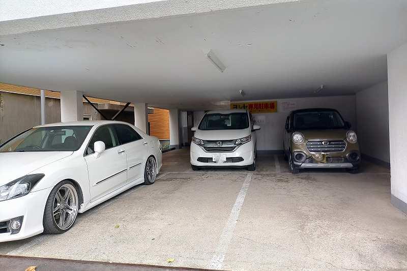 レストランヨシヤの駐車場